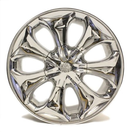 "20"" Detata Wheel # 110 Profiler Chrome Center Cap Not Included"