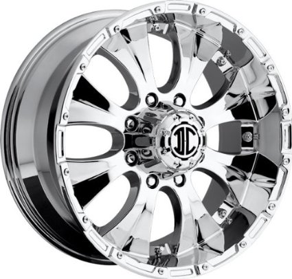2CRAVE EXTREME - nx-2 - 17 Inch Rim x 8 - (6x5.5) Offset (0) Wheel Finish - Chrome