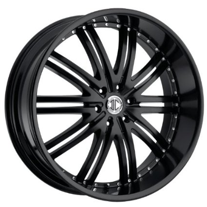 2CRAVE - no.11 - 22 Inch Rim x 9.5 - (5x115) Offset (15) Wheel Finish - satin black