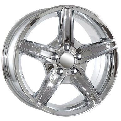 18 Mercedes Benz ML GL R class chrome wheels rims AMG