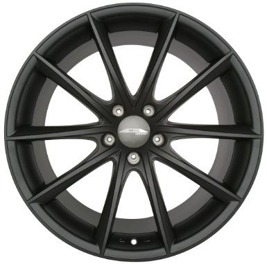 22 Inches ACE D704 CONVEX Staggered 22x9.0 22x10.5 BMW 7 Series Wheels Matte Black Pack