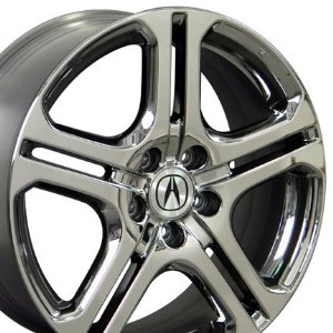 Acura on Acura Tl5 Black Chrome Wheel 18 Inch Acura Rims Acura Aftermarket