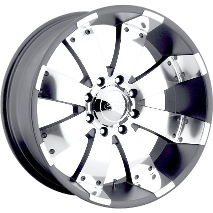American Eagle 64 16 Gray Wheel / Rim 6x5.5 with a 0mm Offset and a 108.2 Hub Bore.