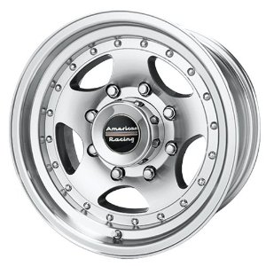 "American Racing AR23 Machined Wheel with Clear Coat (15x7""/5x4.5"")"