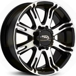 American Racing AR708 17 Black Wheel / Rim 5x135 with a 0mm Offset and a 87.1 Hub Bore. P