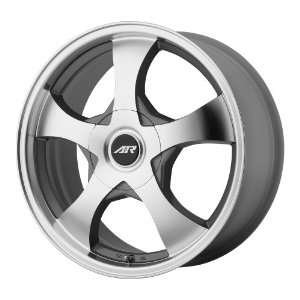 "American Racing AR895 Series Dark Silver With Machined Face Wheel (14x6""/4x100,114.3mm)"