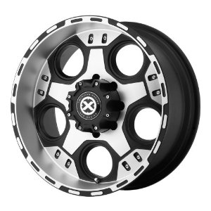"American Racing ATX Justice AX1847 Matte Black Machined Wheel (18x9""/8x6.5"")"