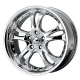 "American Racing Casino AR683 Chrome Wheel (18x8""/5x115mm)"