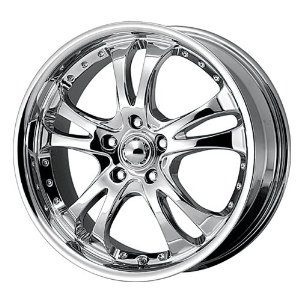 "American Racing Casino AR683 Chrome Wheel (20x8.5""/5x4.5"")"