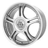 "American Racing Estrella AR95 Machined Finish Wheel with Clear Coat (14x6""/4x100mm)"