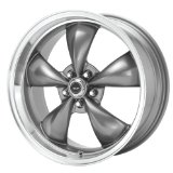 "American Racing Torq Thrust M AR105M Anthracite Wheel with Machined Lip (17x9""/5x4.75"")"