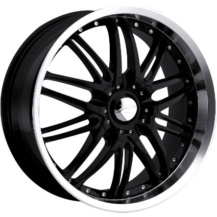 Platinum Apex 15 Black Wheel / Rim 4x100 & 4x4.5 with a 40mm Offset and a 73 Hub Bore.