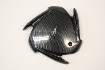 Arelli Wheel Center Cap Ard-1099 Carbon Fiber