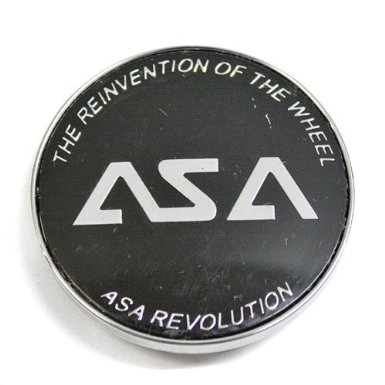 Asa Wheel Center Cap Black # 8c032