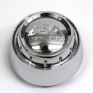 Asa Wheel Center Cap Ls5 Ls8 Chrome #8b625