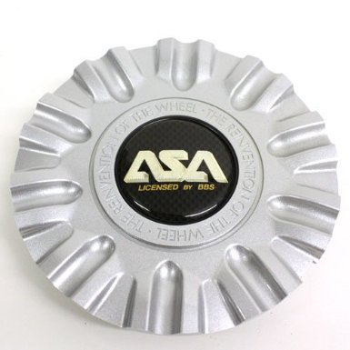 Asa Wheel Center Cap Silver Ls1 99