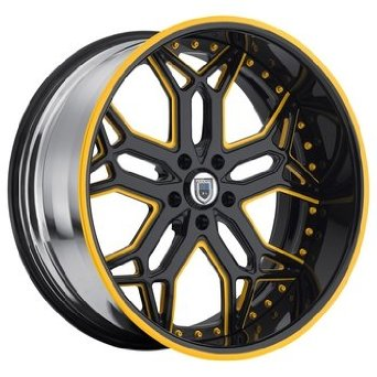 30 Inch Asanti AF-185 Chrome wheels 30x10 Asanti rims BP: