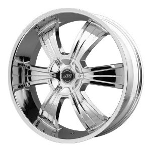American Racing AR894 18x8 Chrome Wheel / Rim 5x4.75 & 5x5 with a 15mm Offset and a 78.10