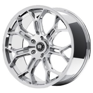 Motegi MR120 19x8.5 Chrome Wheel / Rim 5x4.5 with a 45mm Offset and a 72.60 Hub Bore. Part
