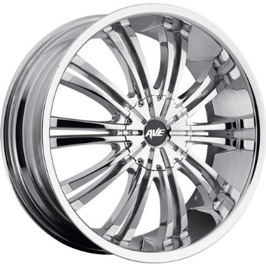 Avenue A601 17 Chrome Wheel / Rim 5x100 & 5x4.5 with a 40mm Offset and a 73.00 Hub Bore.