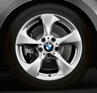 "BMW Genuine 17"" Wheel Rim Streamline 370 128i 128i E82 E88"
