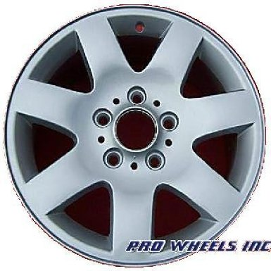"Bmw 323i 325i 325xi 328i 330i 16X7"" Silver Factory Original Wheel Rim 59289"