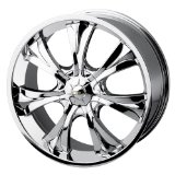 18x7.5 Baccarat Mirage (1120) (Chrome) Wheels/Rims 5x114.3/120 (1121C-8704)