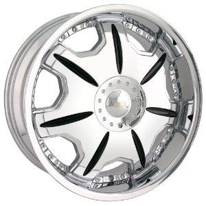20x8.5 Baccarat Director (1150) (Chrome) Wheels/Rims 5x114.3/120 (1150C-2804)