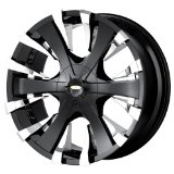 22x9.5 Baccarat Phang (2130) (Black) Wheels/Rims 6x135/139.7 (2130B-22937)