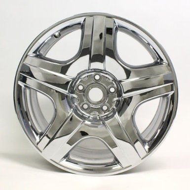 "19"" Bentley Continental Gt Flying Spur Chrome Forged Wheel Factory Oem # Nh1097"