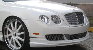 Bentley Flying Spur 2005+ Wald Style Front Lip Spoiler Unpainted Primer