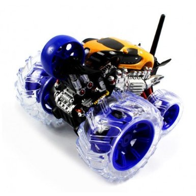 Electric 360 Degree Bugatti Veyron Cyclone Stunt Wheel RTR RC Monster Truck Remote Control