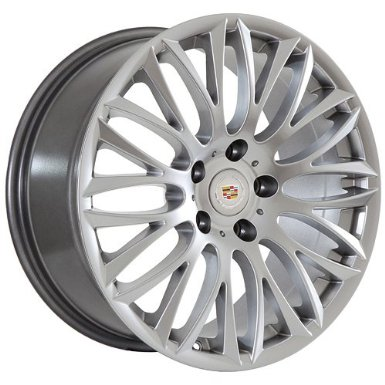 18 Inch Cadillac Wheels Rims Silver (set of 4)