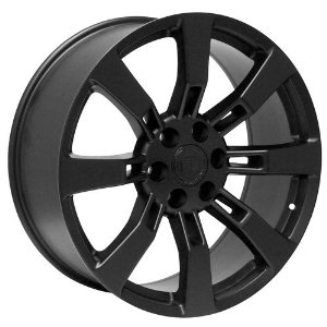 "20"" inch black Cadillac Escalade EXT ESV platinum wheels rims"