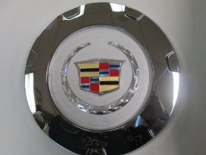 "2007-2011 Cadillac Escalade 22"" 7-Spoke Wheel Center Hub Cap Chrome OEM"