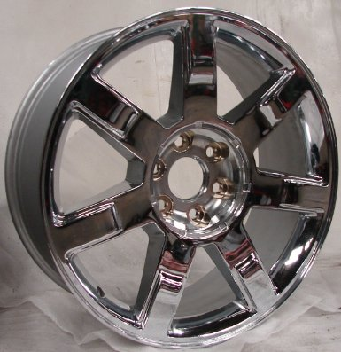 "22"" Cadillac Escalade 7 Spoke Aluminum Factory Wheel Rim"