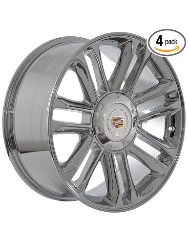 "22"" Cadillac Escalade Chrome Wheels Rims"