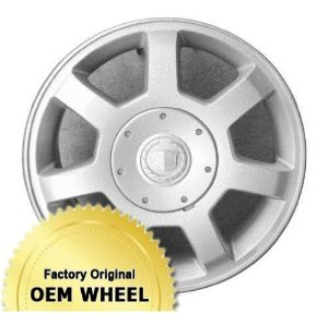 CADILLAC CTS 16X7 7 SPOKE Factory Oem Wheel Rim- SILVER - Remanufactured