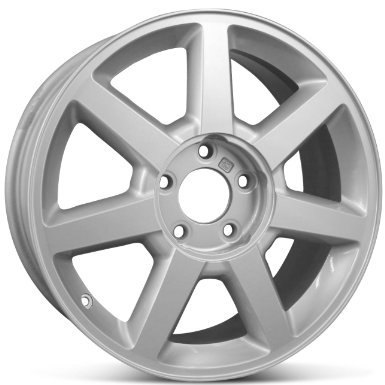 "Cadillac CTS STS 17"" x 7.5"" Factory OEM Stock Wheel Rim 4578 - Silver Finish"