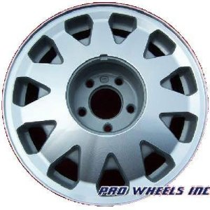 "Cadillac Concours Deville Fleetwood Seville 16X7"" Machined Silver OEM Wheel Rim 4542"