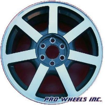 "Cadillac Srx 18X8"" Machined Gray Factory Original Wheel Rim 4581"