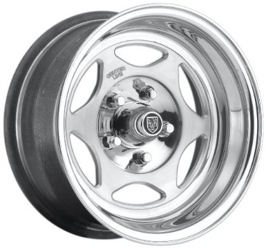 "Centerline Dicer Series 761 Shifter Wheel with Hi-Polish Mirror Finish (15x10""/5x4.5"")"