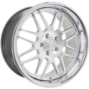 Concept One RS-8 19x8.5 Hypersilver Wheel / Rim 5x120 with a 35mm Offset and a 72.50 Hub