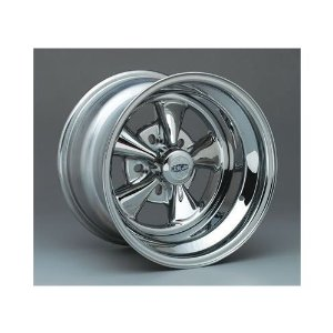 Cragar 61815: Wheel, Super Sport, Steel, Chrome