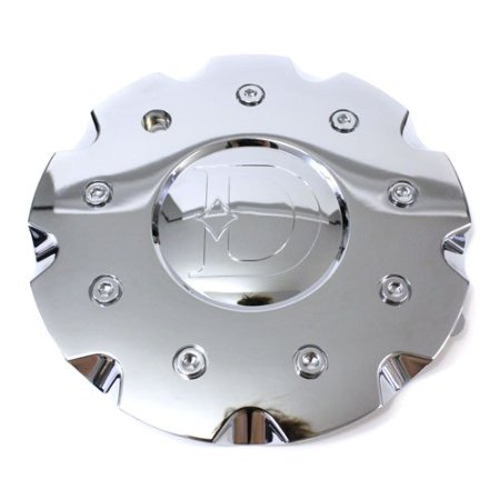 Defy Wheel D6 Whip Chrome Center Cap # 90072410f-1