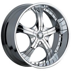 Devino 430 20x9 Chrome Finish Wheel / 5x127mm 5x135mm / 14mm Offset / 87mm Hub Bore