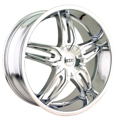 Dip Bionic 18 Chrome Wheel / Rim 5x110 & 5x115 with a 40mm Offset and a 72.62 Hub Bore.