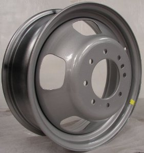 "17"" Dodge Ram 3500 Grey Dual Dually Wheel Rim 8 Lug"
