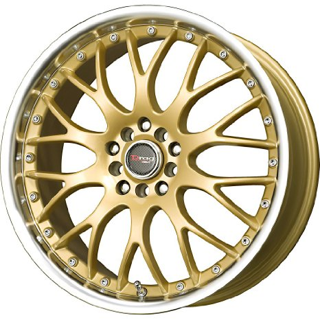 "Drag D19 Gold Wheel (17x7.5""/5x100mm)"