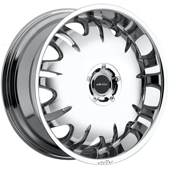 Driv King 24x9 Chrome Wheel / Rim 6x135 & 6x5.5 with a 30mm Offset and a 106.00 Hub Bore.